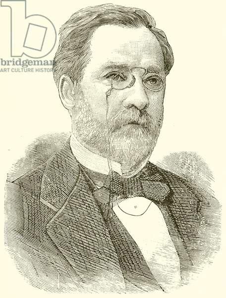 Dr. Louis Pasteur (engraving)