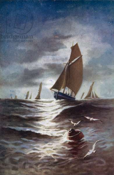 Tennyson Poem: The Princess (colour litho)