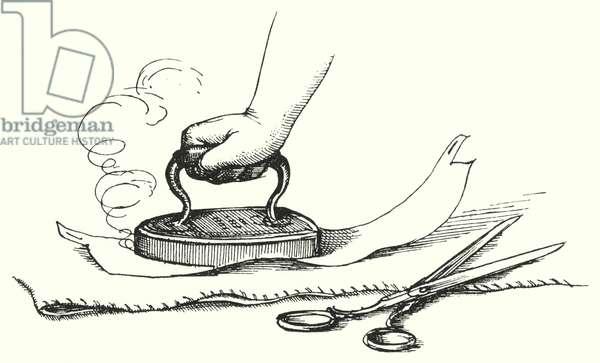 Hans Christian Andersen: The Shirt Collar (litho)