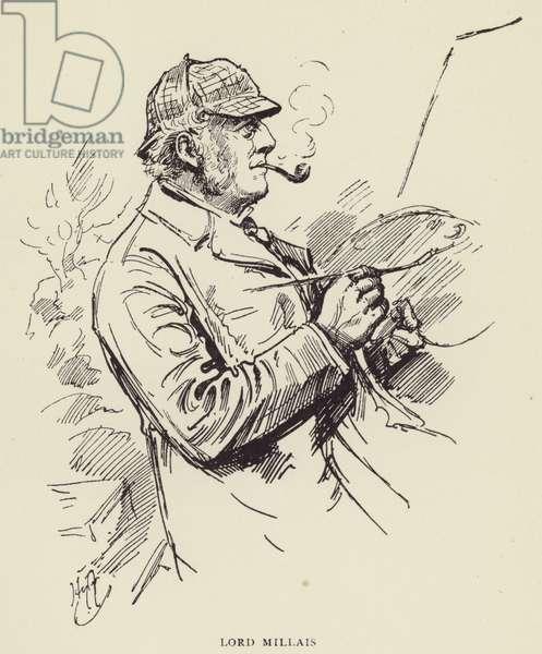 Lord Millais (litho)