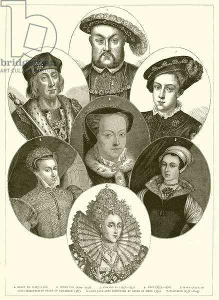 Tudors etc (engraving)