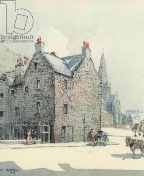 Glasgow: Provands Lordship (colour litho)