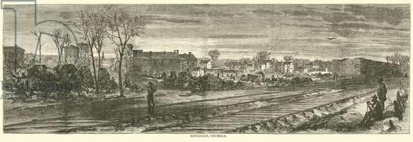 Ringgold, Georgia, May 1864 (engraving)