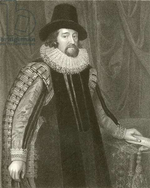 Francis Bacon, Viscount St Alban (engraving)