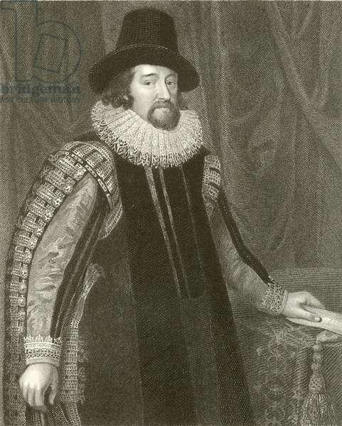 Francis Bacon, Viscount St Alban (engraving)
