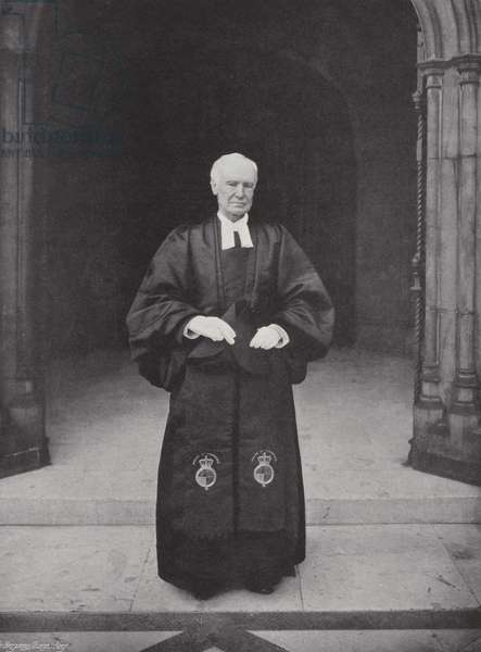 The Chaplain of the House of Commons, Archdeacon Wilberforce (b/w photo)