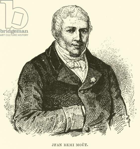 Jean Remi Moet (engraving)