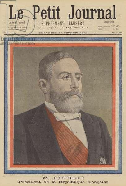 Emile Loubet, President of France (colour litho)