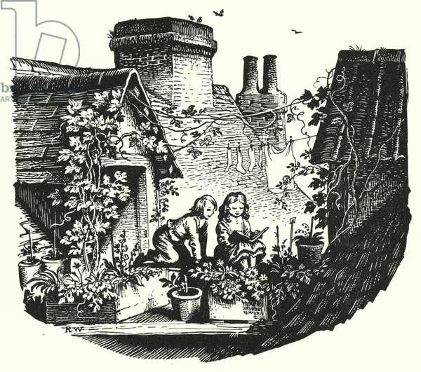 Hans Christian Andersen: The Snow Queen (litho)