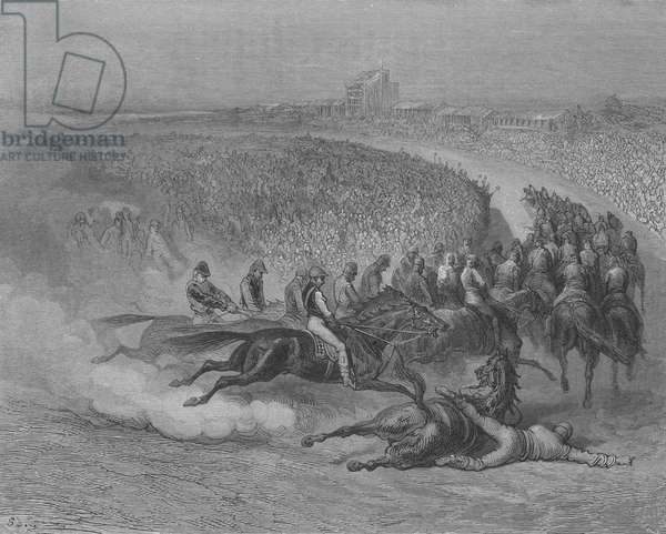 Derby, Le Tournant (engraving)