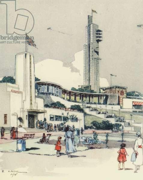 Glasgow: The Exhibition (colour litho)
