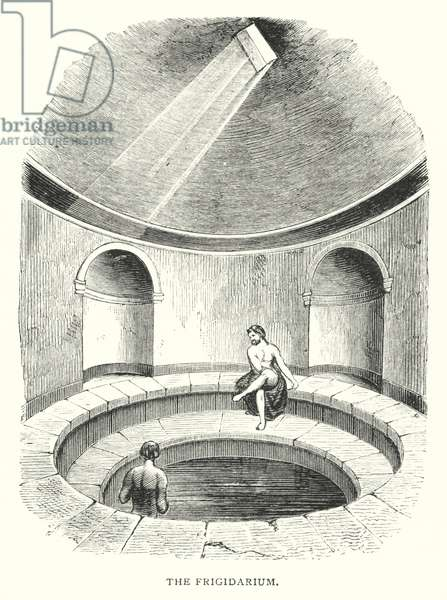 The Frigidarium (engraving)