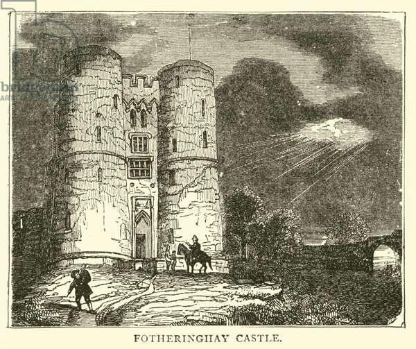 Fotheringhay Castle (engraving)