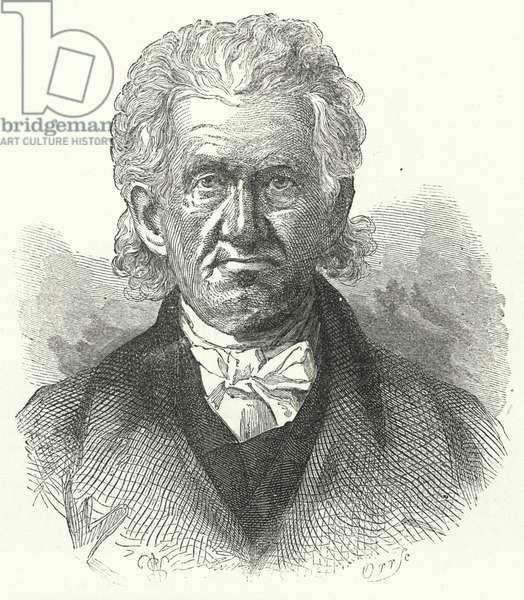 Reverend Lyman Beecher, DD (engraving)