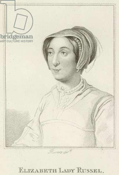 Elizabeth, Lady Russel (engraving)