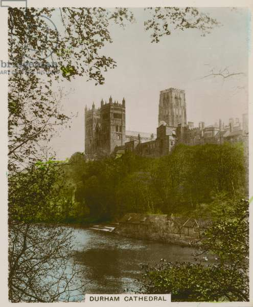 Durham Cathedral (coloured photo)
