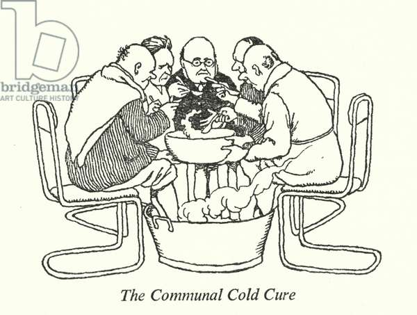 The Communal Cold Cure (litho)