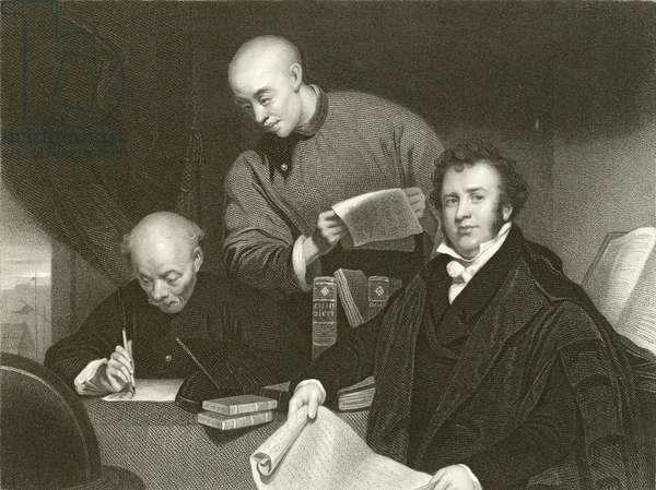 The Reverend Robert Morrison (engraving)