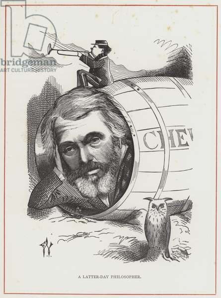 Thomas Carlyle, philosopher of Chelsea (engraving)