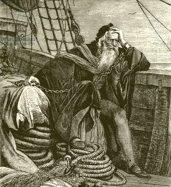 Columbus in Chains (engraving)