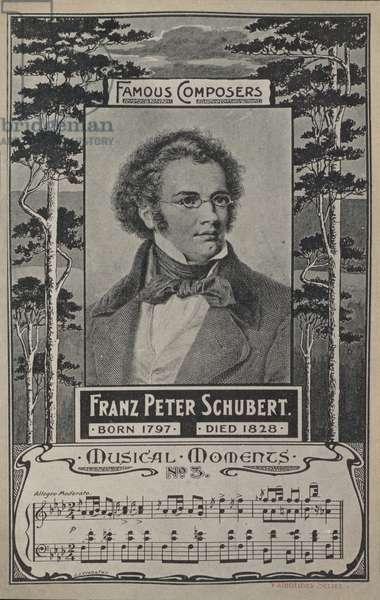 Franz Peter Schubert, Portrait (litho)