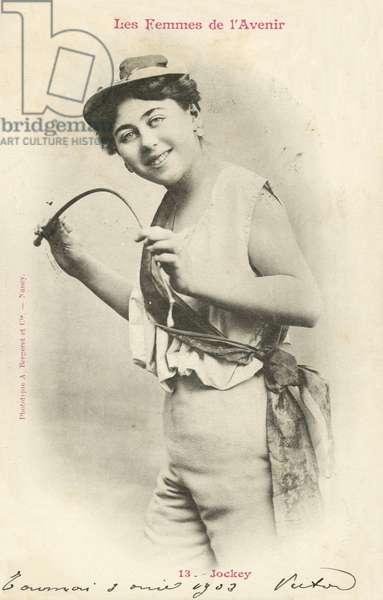 Jockey, Woman Of The Future (b/w photo)
