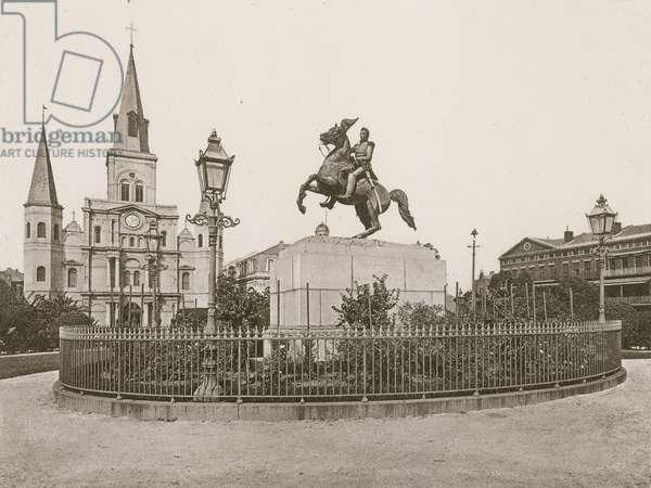 Jackson Square, New Orleans (photogravure)
