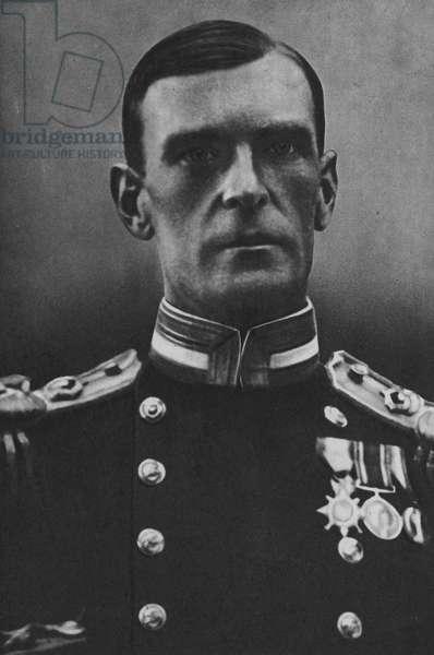 Vice-Admiral Sir Philip L Vian, KCB, KBE, DSO (b/w photo)