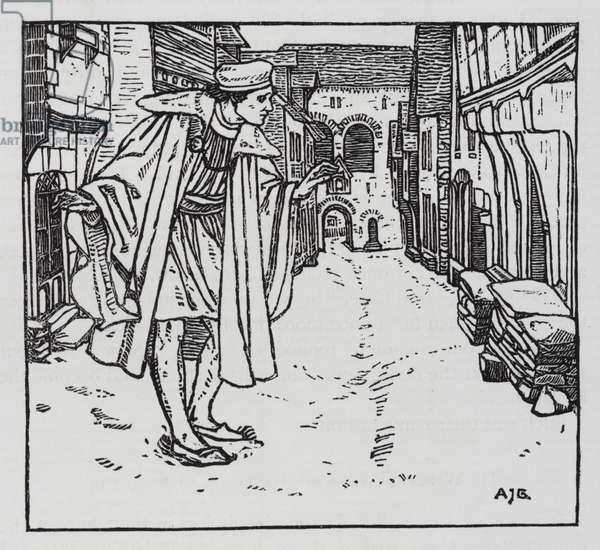Hans Christian Andersen: The Goloshes of Fortune (litho)