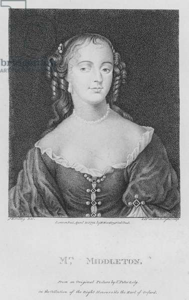 Mrs Middleton (engraving)