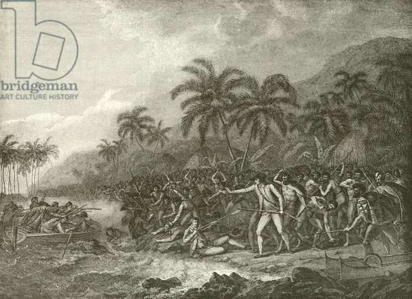 Death of Captain Cook (engraving)