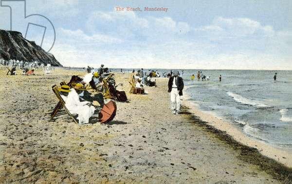 The Beach, Mundesley (colour photo)