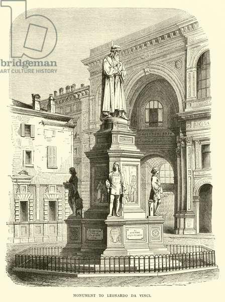 Monument to Leonardo da Vinci (engraving)