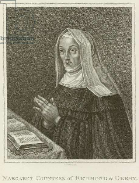 Margaret, Countess of Richmond and Derby (engraving)