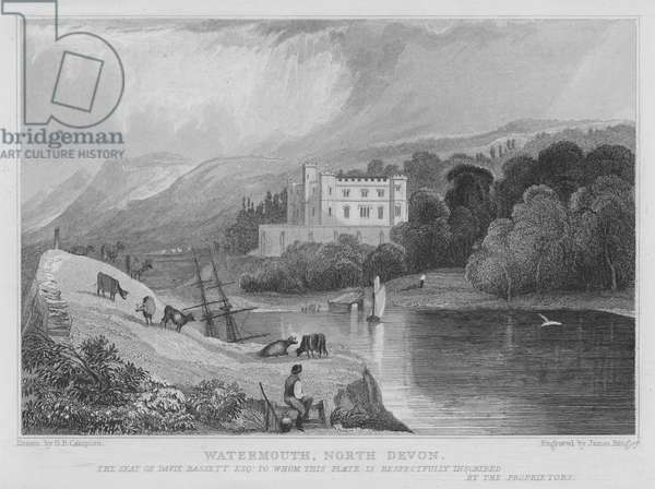 Watermouth, North Devon (engraving)