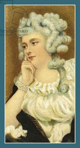 Portrait of Mrs Braddyll, by Sir Joshua Reynolds (chromolitho)