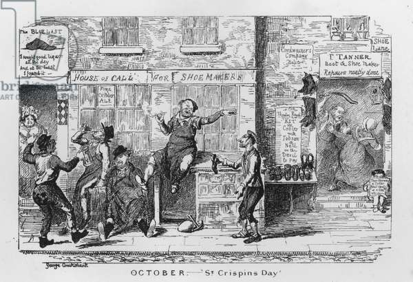 St Crispin's Day (engraving)