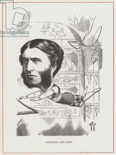 Matthew Arnold, Sweetness and Light (engraving)