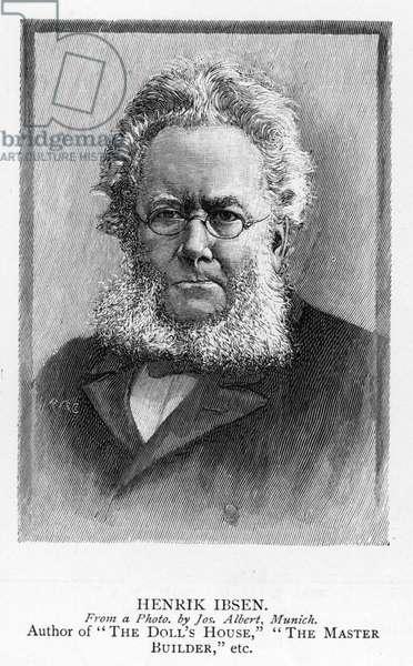 Henrik Ibsen (engraving)