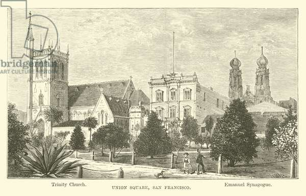 Union Square, San Francisco (engraving)