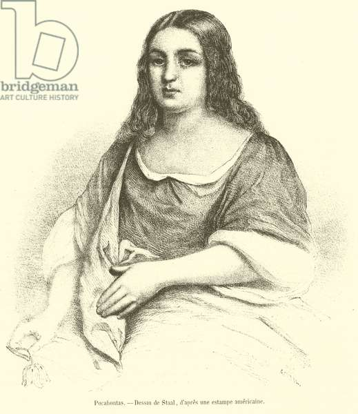 Pocahontas (engraving)