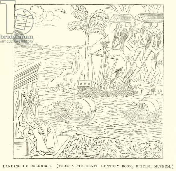 Landing of Columbus (engraving)