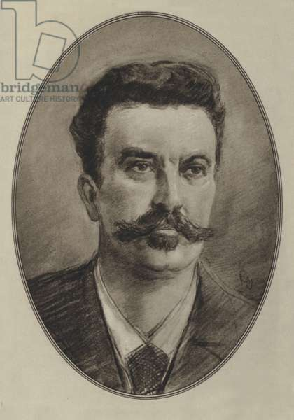 Guy De Maupassant (litho)