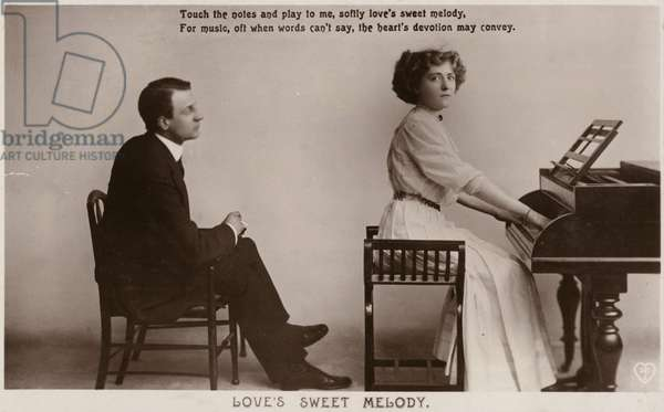 Love's Sweet Melody (b/w photo)