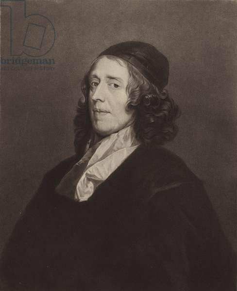 Reverend John Owen, DD (litho)