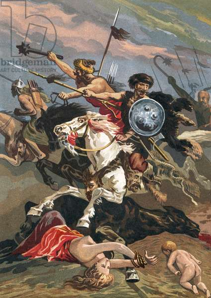 Invasion of the Barbarians into Spain
