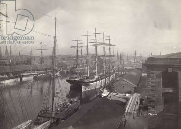 Salthouse Dock, Liverpool, June 1897 (b/w photo)