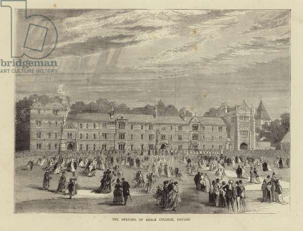 The Opening of Keble College, Oxford (engraving)