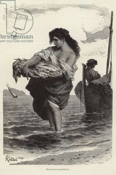 Neapolitan fisher (engraving)