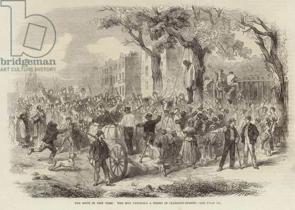 The Riots in New York (engraving)